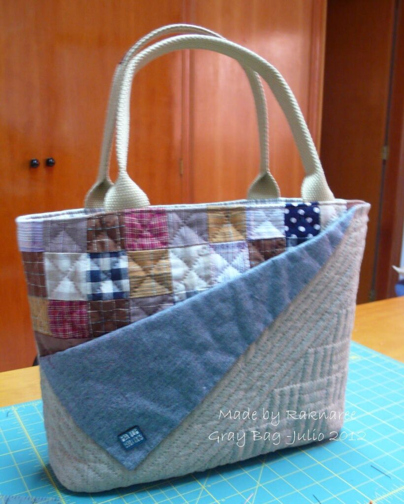PATCHWORK BAGS TUTORIAL | BAG SEWING PATTERN | DIY BAG FROM OLD JEANS | OLD JEANS DIY IDEAS