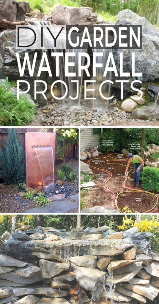 DIY WATERFALL FEATURE + How To Build