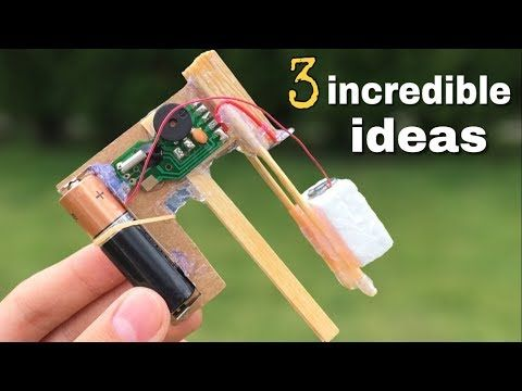 HOMEMADE INVENTIONS AND DIY IDEAS TOys