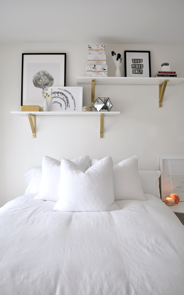 BEDROOM MAKEOVER With Plastic! DIY Headboard and More!!!