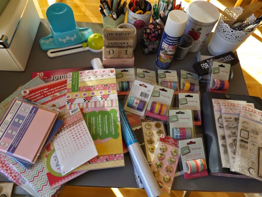 Action Haul 6 neue DIY Card making Sets #Action #Actionhaul