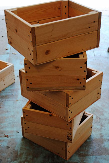 DIY CRATE CHALLENGE! Transforming Crates into Accent Pieces.