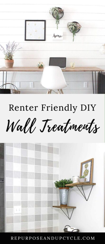 Renter-Friendly Living Room Makeover 🏠(thrifted decor, diy wallpaper, plants) | HOUSE SOYBEAN EP 2