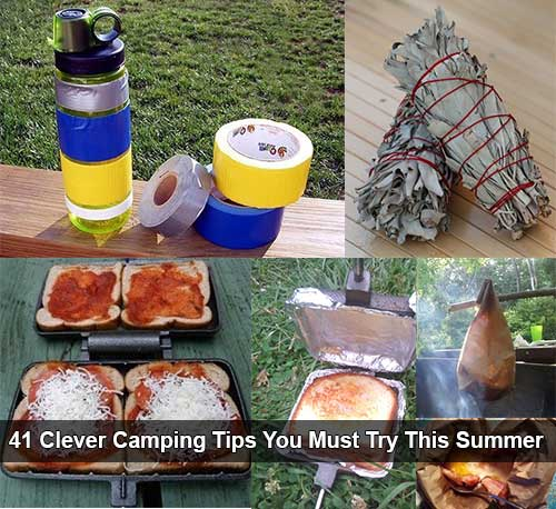 CLEVER CAMPING HACKS AND TIPS    Traveling DIY Ideas by 123 GO!